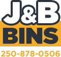 J&B Bins Mobile Logo